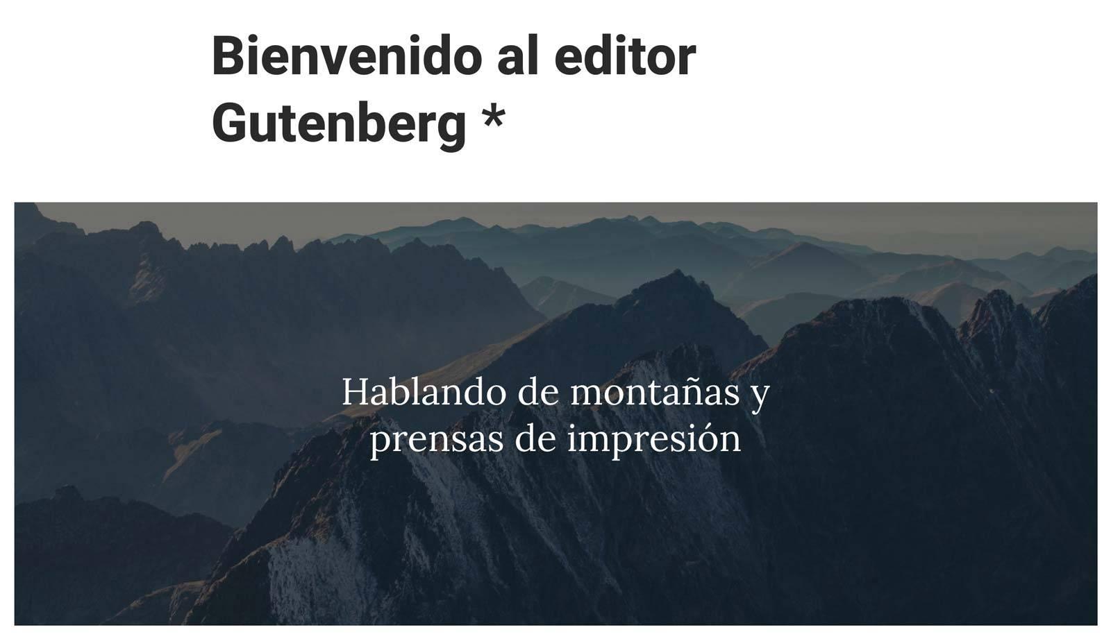 Gutenberg mucho más que un editor